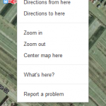 Google maps whats here