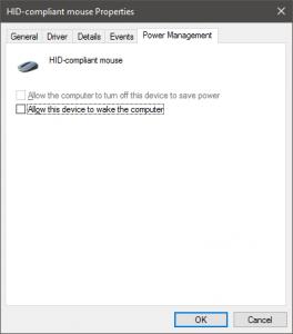 HID power management