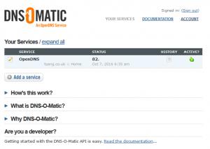 DNS O Matic services